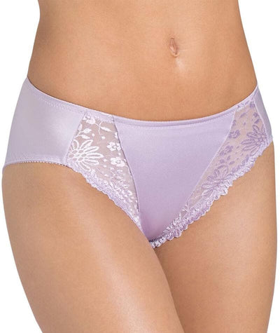 "Triumph Ladyform Brief -Fair Orchid ""front"""