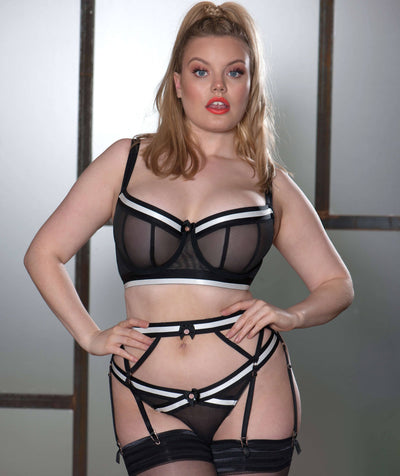 Scantilly Decadence Thong - Monochrome