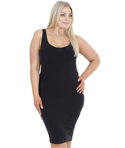 Sonsee Sleeveless Singlet Slip - Black Lounge Gorgeous 14-16
