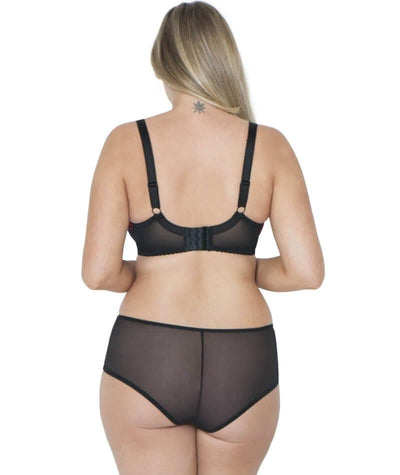 Curvy Kate Poppy Short - Print Mix - Model - Back