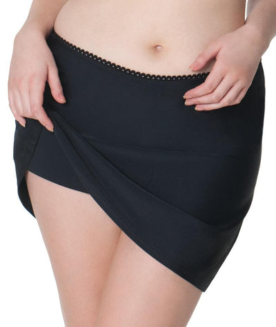 Curvy Kate Jetty Swim Skirt - Black