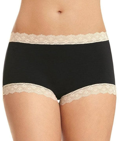 Jockey Parisienne Vintage Modal Full Brief - Black Knickers 10