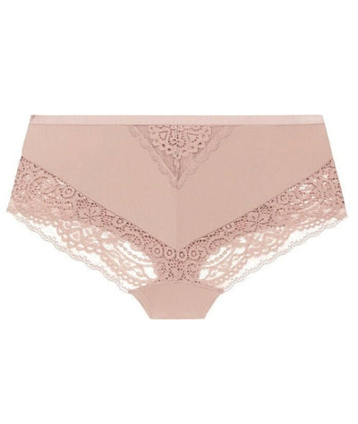 Ava & Audrey Sienna Lace Hipster Brief - Rose Knickers