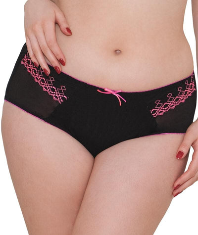 "Curvy Kate Bridget Short - Black ""Front"""
