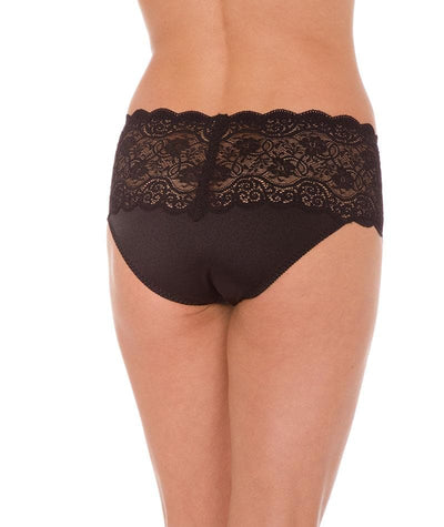 Triumph Amourette Maxi Brief -Black