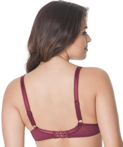 Curvy Kate Kitty Plunge Bra - Merlot Bras