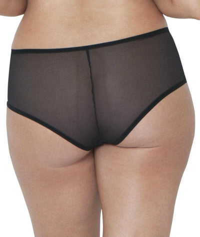 Curvy Kate Victory Amore Short - Black/Rose Knickers