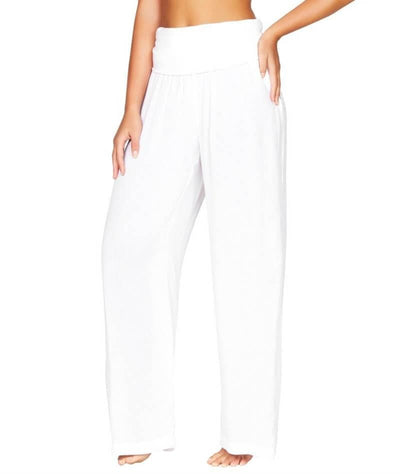 Sea Level Plains Folded Band Beach Pant - White - Side