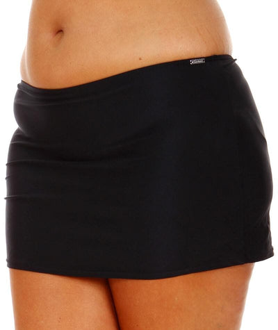 "Capriosca Black	Skirted Bottom ""side view"""