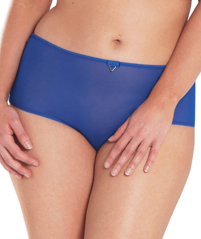 Curvy Kate Victory Short - Electric Blue Knickers 10