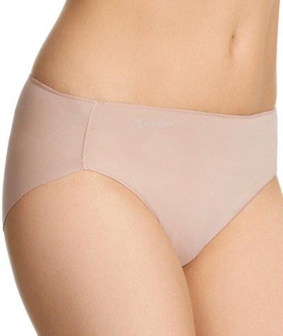 Jockey No Panty Line Promise Next Generation Microfibre Hi Cut Brief - Dusk