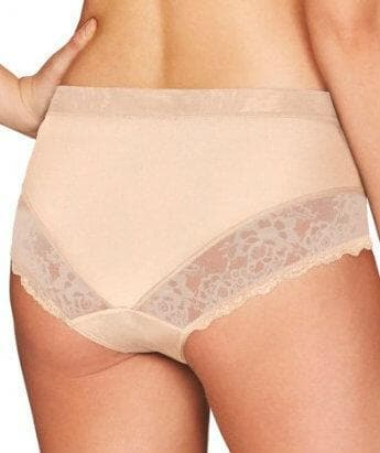 Fayreform The Perfect Form High Cut Brief - Latte - Back
