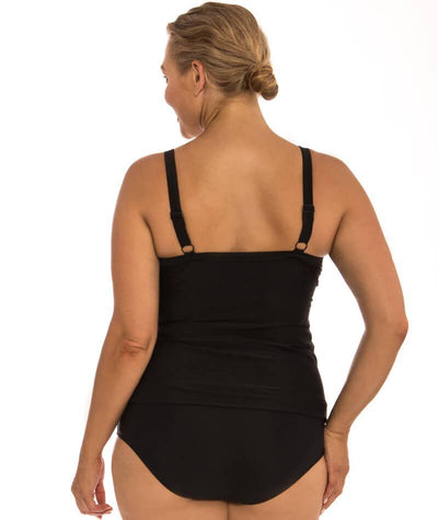 "Capriosca South West Nomad	Panelled Tankini Top ""back view"""