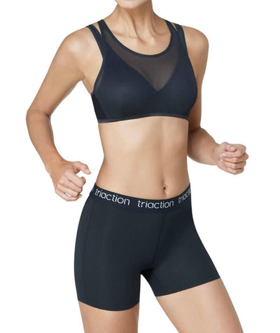 Triumph Triaction Cardio Panty Shorty - Black Knickers