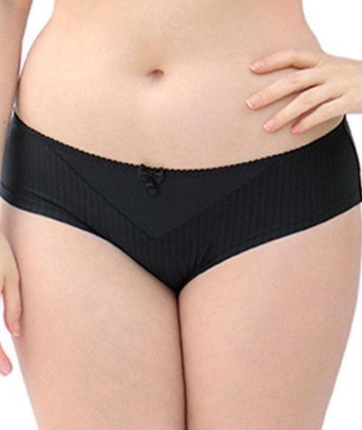 Curvy Kate Luxe Short - Black Knickers 8
