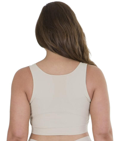 Sonsee High Back Comfort Bra - Nude Bras