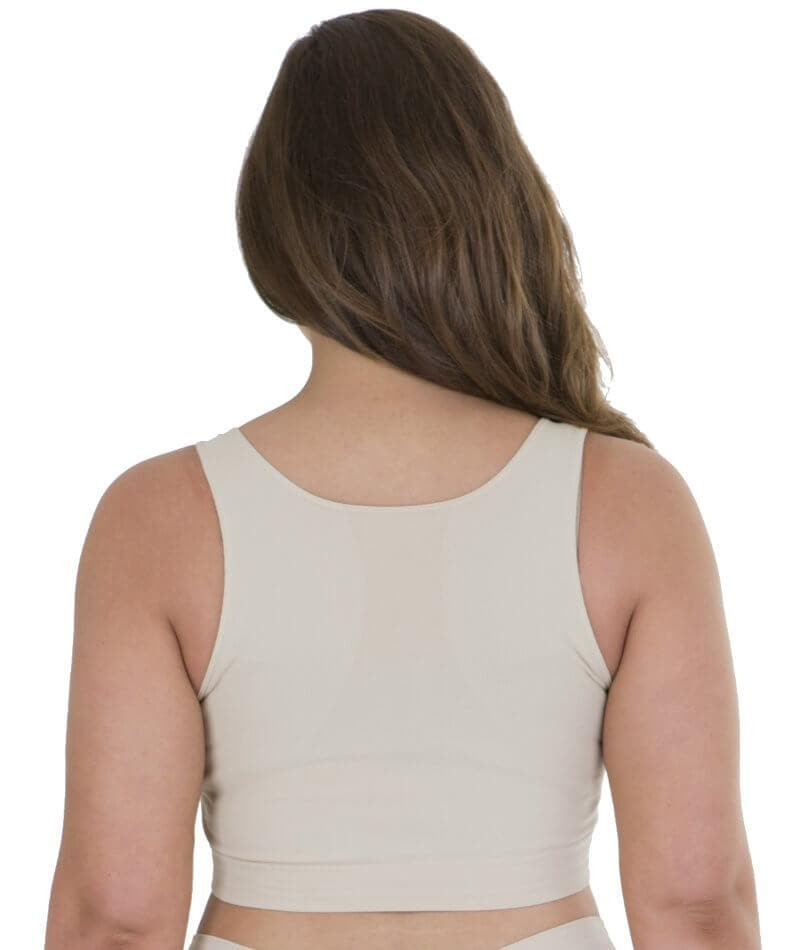 Sonsee High Back Comfort Bra - Nude - Front