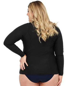 Artesands Sunsafe Long Sleeve Top - Black Swim 14