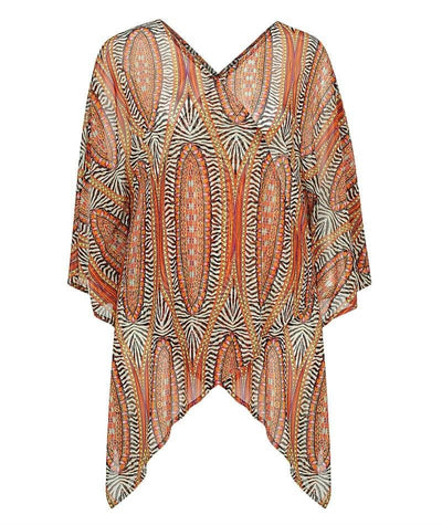 Capriosca Mesh Tunic - Safari Swim