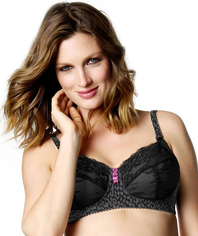 Hotmilk Untamed Nursing Bra - Black Bras 10C