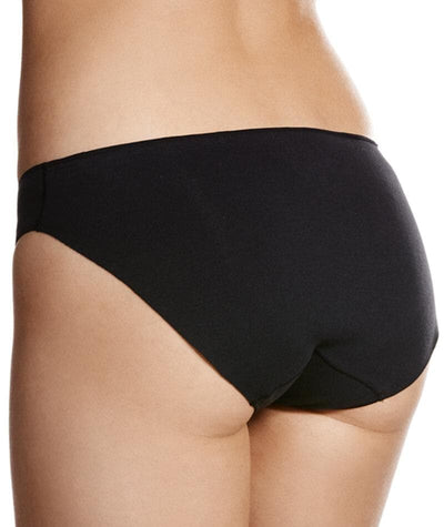Jockey No Panty Line Promise Next Generation Cotton Bikini - Black Knickers