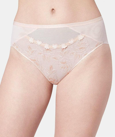 Florale Wild Rose Maxi Brief - Orange Highlight Knickers 10