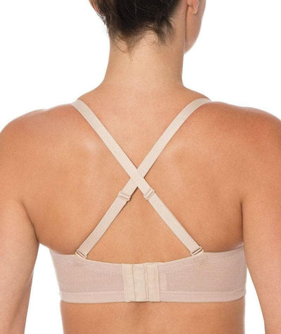 Triumph Beautiful Silhouette Strapless Convertible Bra - Nude - Cross - Back