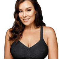 Playtex Comfort Flex Fit Jaquard Seamless Bra - Black Zebra