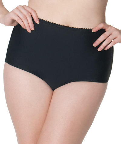 Curvy Kate Jetty High Waist Bikini Brief - Black Swim 8