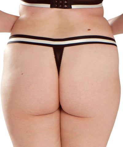 Scantilly Decadence Thong - Monochrome Knickers