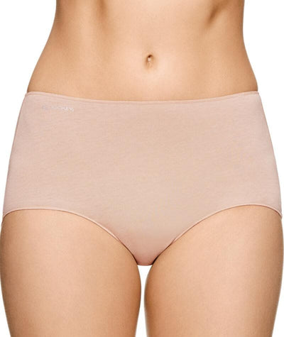 Jockey No Panty Line Promise Next Generation Cotton Full Brief - Silk Beige Knickers 10