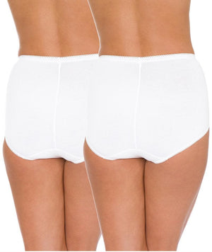 Triumph Sloggi Maxi Brief 2 Pack - White Knickers 12