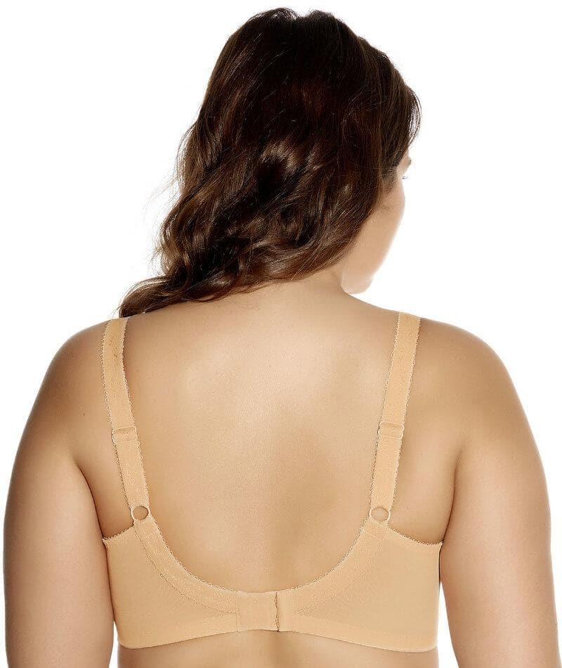 Goddess Keira Underwired Banded Bra - Nude - Front