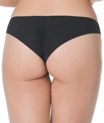 Curvy Kate Cabaret Brief - Black/Blush