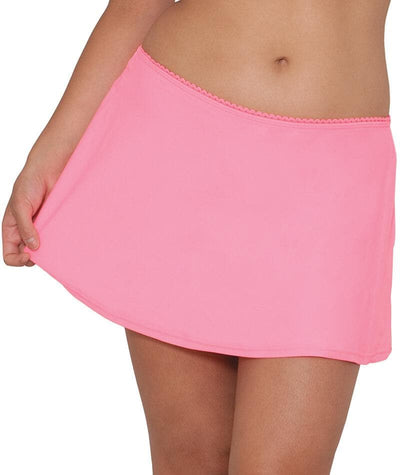 "Curvy Kate Jetty Swim Skirt - Flamingo ""Front"""