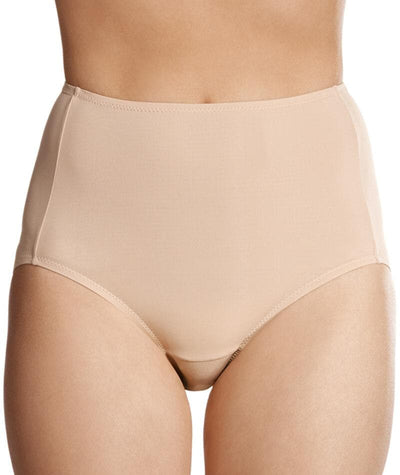 "Jockey No Ride Up Microfibre Full Brief - Dusk ""Front"""