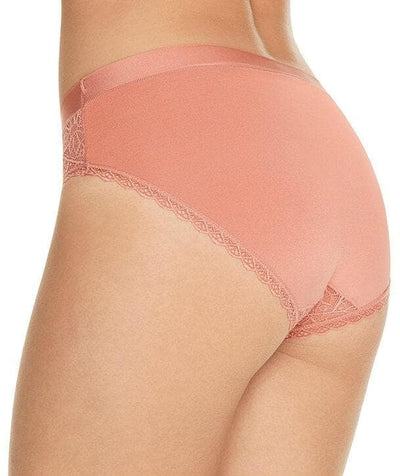 Berlei Barely There Lace Bikini Brief - Blush - Back