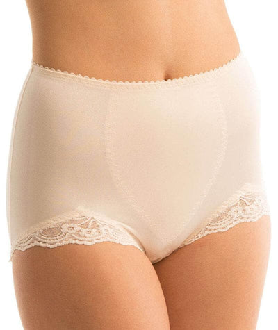 "Triumph Something Else Lace Panty - Fresh Powder ""Front"""