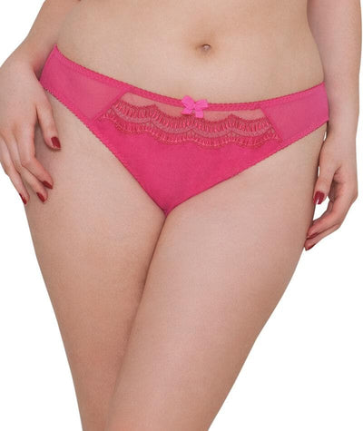 Curvy Kate Cabaret Brief - Dragonfruit Knickers 8