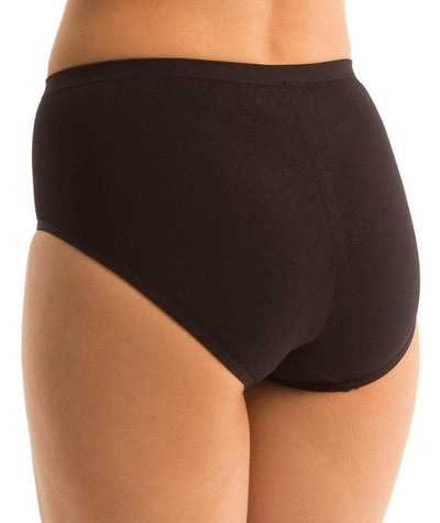 Triumph Shape Sensation Minimizer Panty - Black Knickers