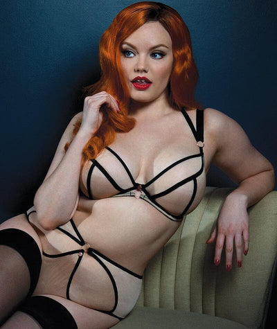Scantilly Knock Out Bra - Latte - Model - 8