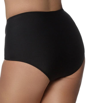 Capriosca High Waisted Pant No Tie - Black Swim 10