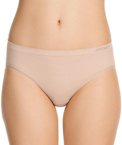 "Jockey Everyday Seamfree Hi Cut Brief  Dusk ""Front"""