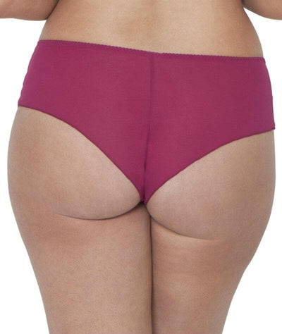 Curvy Kate Dottie Short - Sangria Knickers