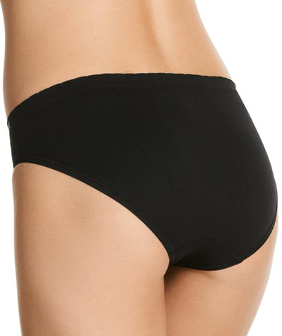 Jockey Everyday Seamfree Bikini - Black Knickers