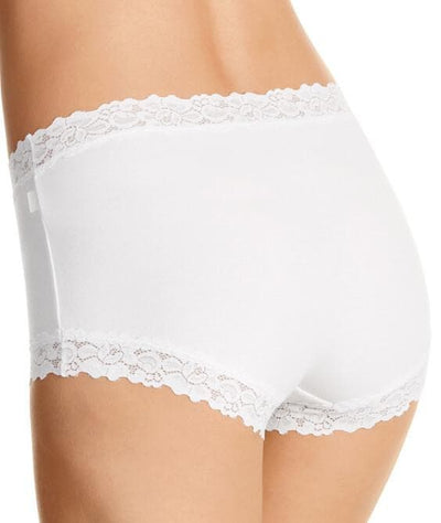 Jockey Parisienne Cotton Full Brief - White Knickers