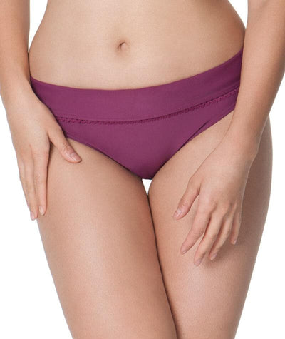Curvy Kate Jetty Fold Over Bikini Brief - Berry Swim 8