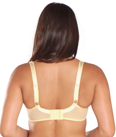 Curvy Kate Princess Balcony Bra - Lemon - Back