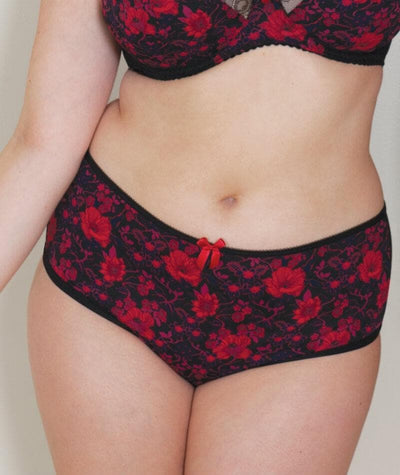 Curvy Kate Poppy Short - Print Mix - Model