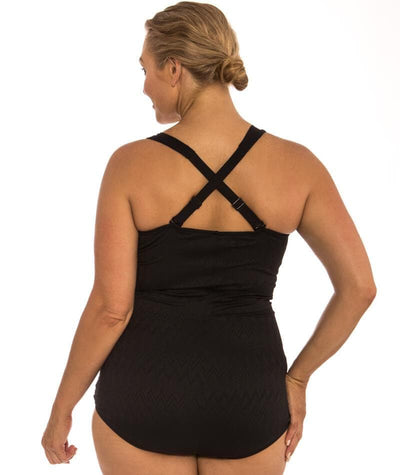 "Capriosca Classique Retro One Piece ""back view"""